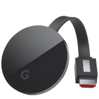 Медиаплеер Google Chromecast Ultra Чёрный